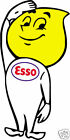 ESSO vintage rare old racing motorsport nostalgia decal