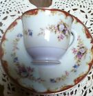 VINTAGE YAMAKA  TEACUP AND SAUCER MADE IN OCCUPIED JAPAN WITH FLOWERS