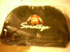Vintage Saratoga Racetrack Canvas Duffel Bag w Logo Jockey Silk
