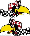 Vintage Crow decal HotRod Mr. Gasser rare old custom