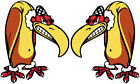 Vintage decal Vulture Rare old Hot Rod Gasser power rare