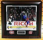 Max Pacioretty Montreal Canadiens Signed Autographe?d Celebratio?n 16x20 Framed