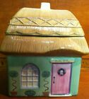 Pfaltzgraff The Circle of Kindness Tipperary Cookie Cottage Storage Jar In Box