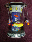 Mechanical Space Carousel Tin Toy