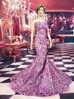 Purple Lace Dress Outfit Fits Princess Diana Marilyn Monroe Michelle Obama Vinyl