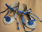 Leather Doll Shoes Antique Style German Vintage 10 cm Puppenschuhe Antik Stil