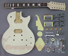 LP 12 String Body Style - DIY Unfinished Project Luthier Electric Guitar Kit!