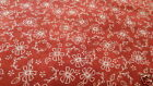 Fresh Water Designs QUILTER'S GARDEN Red Daisy Fabric by the yard