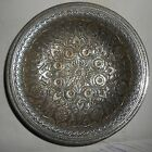 India Vintage Brass Bowl Silver Plated Wt 134 Gram 80 Years Old s130