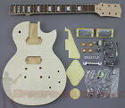 LP Body Style - DIY Unfinished Project Luthier Electric Guitar Kit!