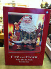 Fitz and Floyd Jolly Ole St. Nick Cookie Jar  Never Been out of Box