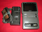 Sony Portable Video Walkman 8mm Video8 TV Recorder GV-9 Player ASIS PLEASE READ