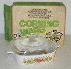 Corning SPICE O' LIFE *1QT SAUCE/BAKING PAN w/LID *ORIGINAL BOX*