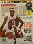 2010-2011 sporting news pro basketball signed by LeBron James.