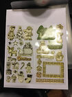 Clear Mount stamp set 33 pieces DJ Inkers Dianne Hook Christmas Winter