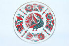 RUSSIAN  Imperial Lomonosov porcelain Decorative Plate Red rooster bird 22K Gold