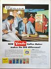 1958 Vendo Automatic Coffee Vending Machine Employees Break Real Coffee Job ad
