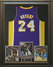 Kobe Bryant Authentic Signed Los Angeles Lakers Jersey Display.