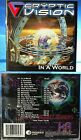 Cryptic Vision - In A World (CD, 2006, Progrock Records, USA)