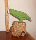 Puerto Rico Parrot Carved wood