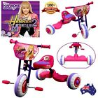 HANNAH MONTANA BIKE TRIKE TRICYCLE TODDLER KID CHILD 3 WHEEL RIDE ON TOY SCOOTER