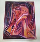 Golden Girl~Soft Stunning Abstract Pastel Artwork~Unframed~Pastel Board~Signed