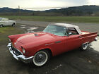 Ford  Thunderbird Base Convertible 2 Door 1957 ford thunderbird base convertible 2 door 51 l