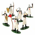 NEW 12 DELUXE TOY KNIGHT MEDIEVAL - CRUSADER PLAY FIGURES