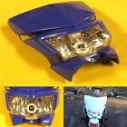 Blue Dirt Bike Motorcycle Headlight Fairing Enduro Cross Dual Sport Dirtbike