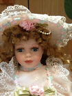 Cathay collection porcelain doll on swing limited edition EUC-never played with!