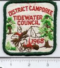BSA:  Vintage Tidewater Council -1968 District Camporee