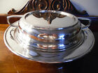 Antique Art Deco GOTHAM NEW YORK CITY Silverplate Covered Serving Dish Casserole