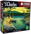 NEW Karmin International J. Charles The Gathering Place Puzzle (1000-Piece)