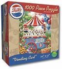 Karmin International Pepsi Vending Cart Puzzle 1000-Piece