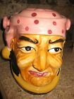 Vintage 1950's Pirate cookie jar Japan RARE!