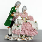 VTG Karl-Heinz Klette Dresden Lace Courting Couple Figurine Gentleman Lady