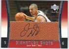 JASON KIDD 2003-04 UD UPPER DECK SWEET SHOT SIGNATURE AUTO NETS AUTOGRAPH