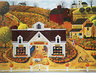 PUZZLE.....JIGSAW....POULIN.....Pumpkin House....1000 Pc...Sealed
