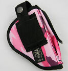 PINK CAMO CLIP ON or BELT SLIDE HOLSTER w MAG POUCH for GLOCK 42 HJ10