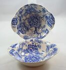 Johnson Bros Blue English Chippendale China 6