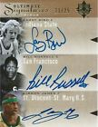 2010-11 ULTIMATE COLLECTION LEBRON JAMES BILL RUSSELL LARRY BIRD TRIPLE AUTO 25