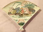 VTG Heygill HFP Macau Dynasty - Handpainted Lovely WaterFowl Fan Plate +Low Ship