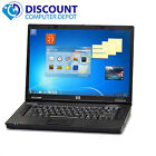 HP Laptop Computer PC Notebook Windows 7 4GB Ram 60GB HDD Dual Core DVD WiFi