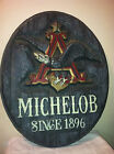 Vintage Michelob Beer Since 1896 Eagle Plastic Bar Sign 27.5