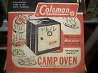 Camping Oven by COLEMAN # 5010A700 Fold AwayOven manual in Original Box