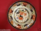 Antique Wood & Son Royal Semi Porcelain Hand Painted Verona Pattern Plate Bowl