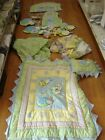 Kids Line Snuggle Bugs 14 Piece Crib Bedding Set with Accessories