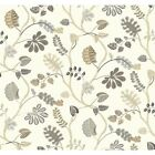York Wallcoverings Waverly Small Prints a New Leaf Wallpaper
