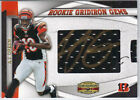 A.J. GREEN 2011 GRIDIRON GEAR ROOKIE GEMS PULL OUT JERSEY AUTO RC 168 199
