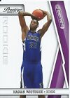 2010-11 PRESTIGE BONUS SHOTS PURPLE #203 HASSAN WHITESIDE #6 49 MIAMI HEAT KINGS